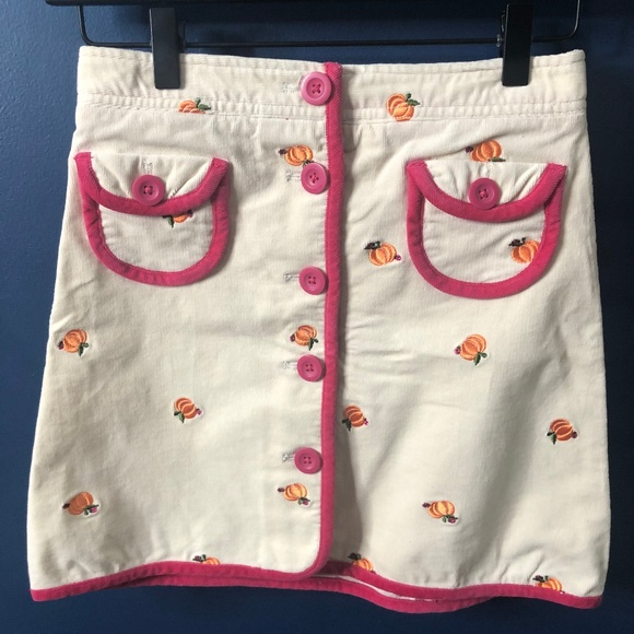 Lilly Pulitzer Other - Girls 12 Lilly Pulitzer Pumpkin Corduroy Skirt